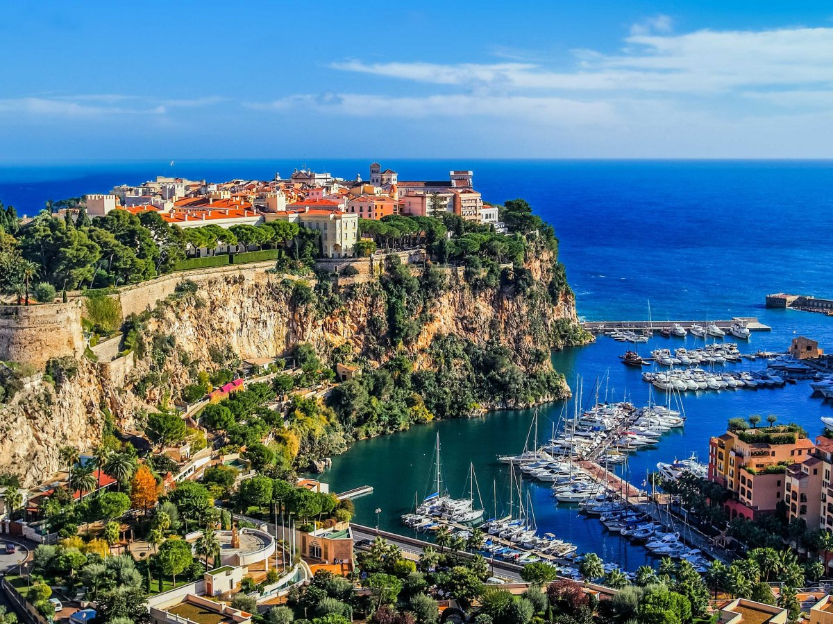 Check out the megayacht-filled Port de Monaco, where billionaires go to play.