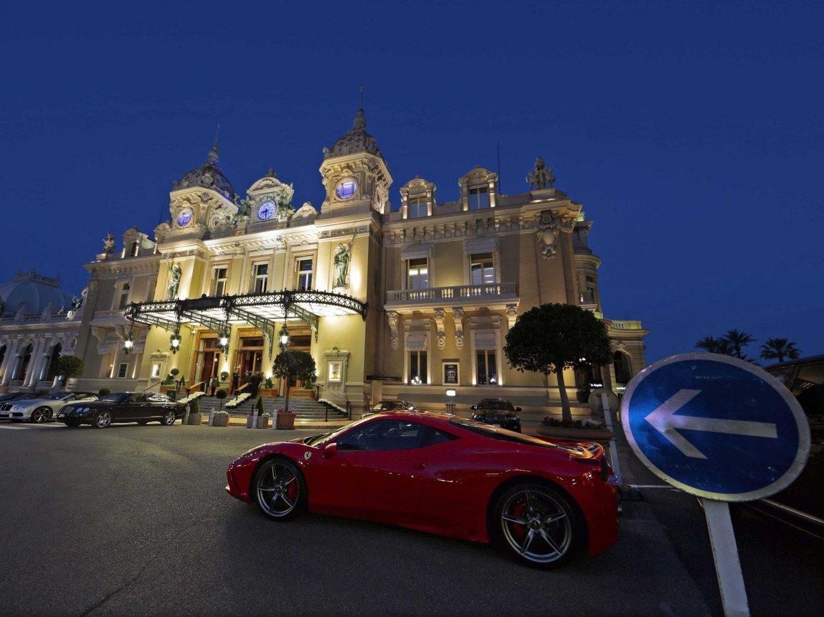 Play a hand of blackjack at the Casino de Monaco in Monte Carlo.