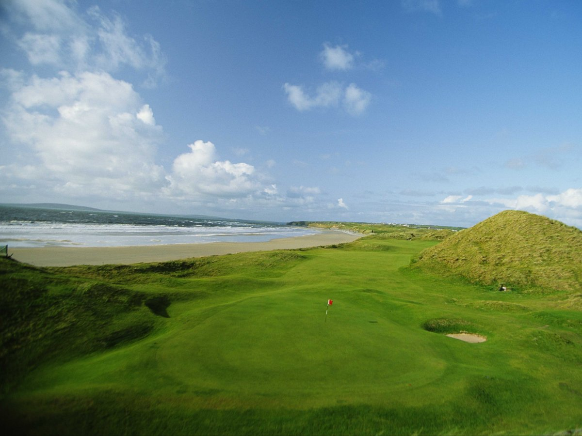 Play a round at Ballybunion, one of the most iconic golf courses in Ireland.