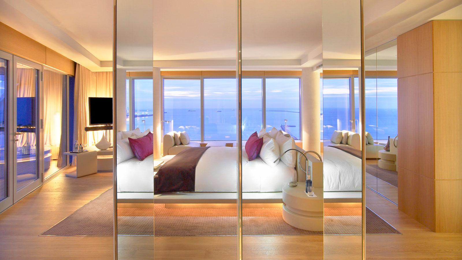 Hotel Barcelona W in Ricardo The Architecture Bofill by |