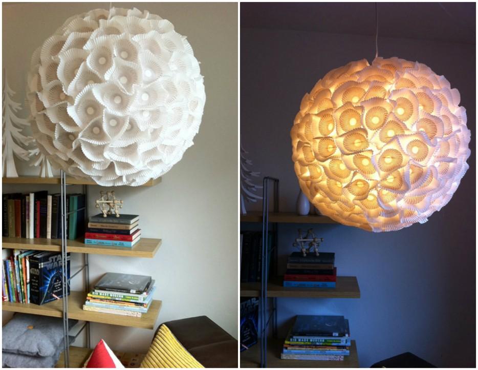 Diy Ikea Pendant Light