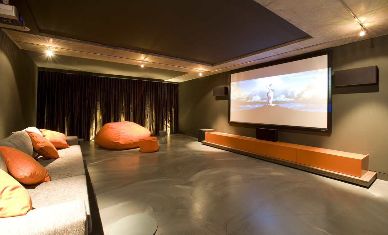 15 Simple, Elegant and Affordable Home Cinema Room Ideas ...