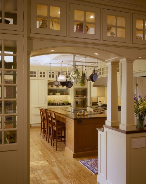 Kitchen And Dining Room Partition