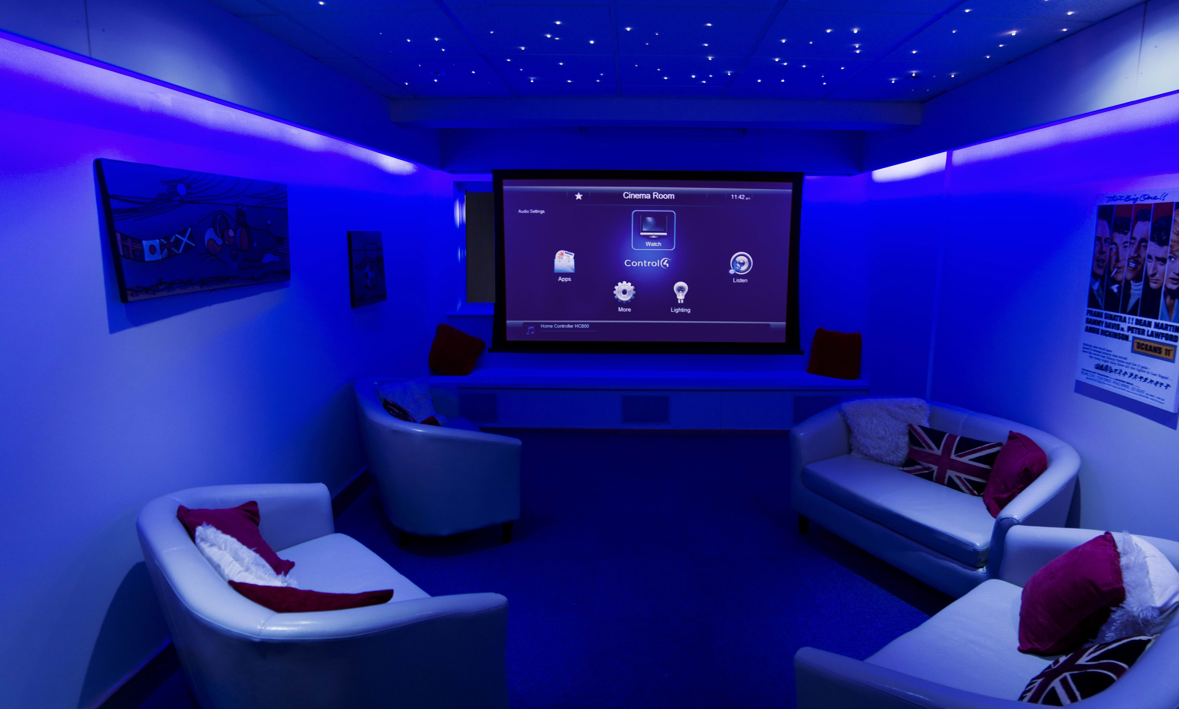 15 Simple Elegant And Affordable Home Cinema Room Ideas
