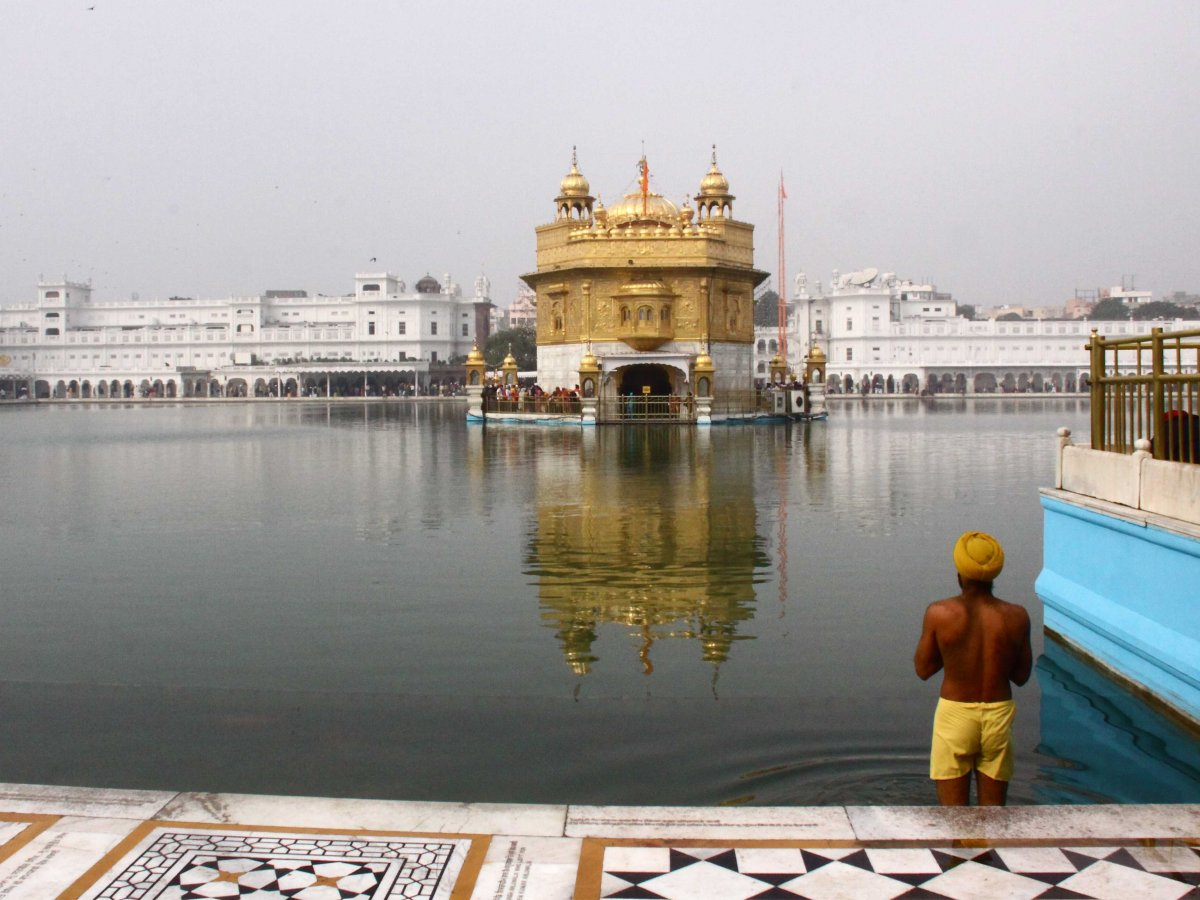 16-Golden Temple, India
