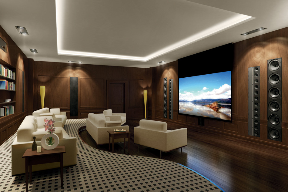 15 simple elegant and affordable home cinema room ideas. Black Bedroom Furniture Sets. Home Design Ideas