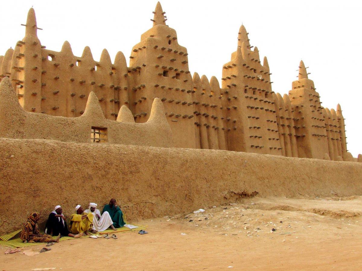 17-The Great Masjid, Djenne Mali