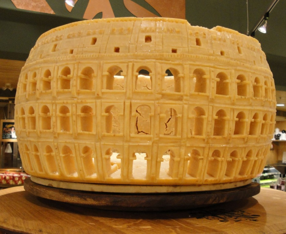 Incredible edible food carvings architecture