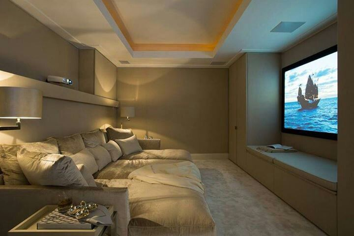 Simple Elegant And Affordable Home Cinema Room Ideas
