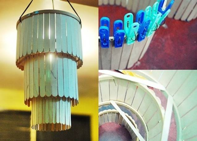 25 Magnificent Chandeliers Made Out Of Crazy Things