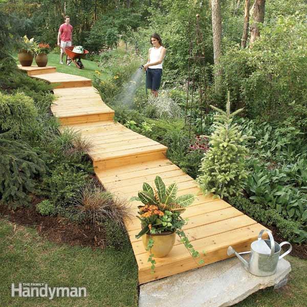 25 Lovely Diy Garden Pathway Ideas: Tante Idee Per Realizzare Un Viale Particolare Nel Nostro