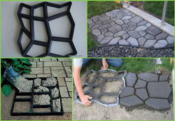 25 lovely diy garden pathway ideas architecture design - Vialetto giardino fai da te ...