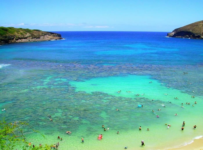 33 beautiful beaches where you can swim in the world 39 s for Best clear water beaches in the world
