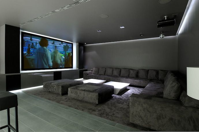 Home Theater Ideas Part - 39: Simple Elegant And Affordable Home Cinema Room Ideas