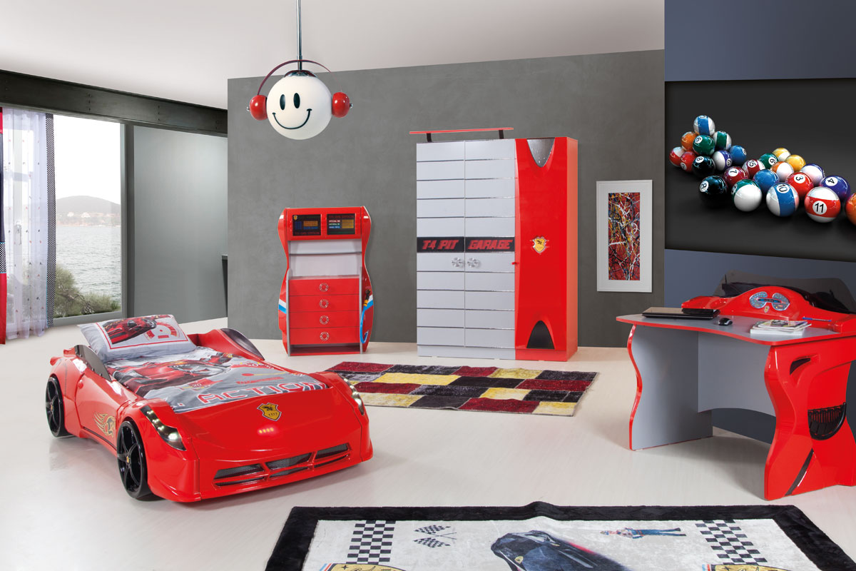 15 awesome car inspired bed designs for boys for Coupe architecture