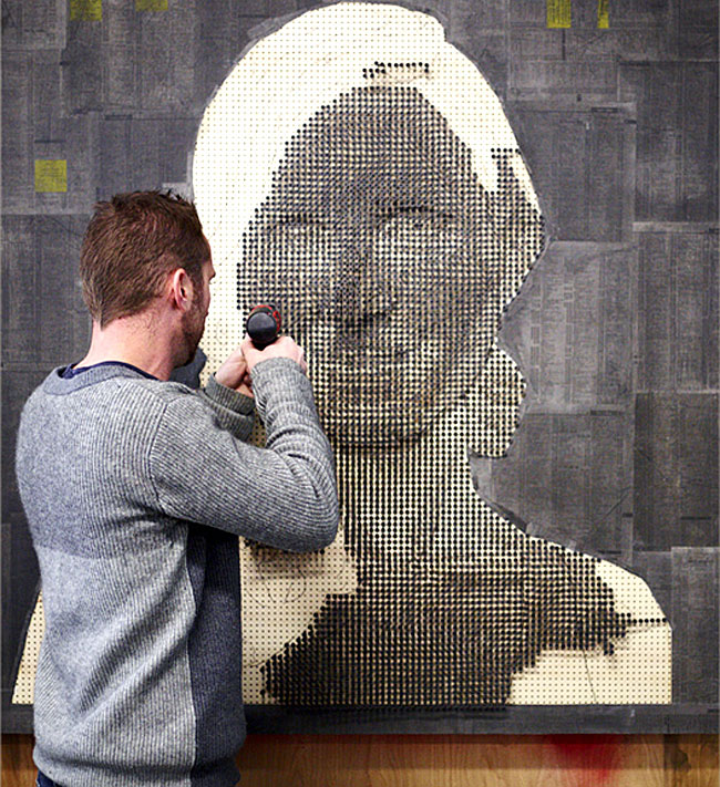 3d Screw Portraits By Sculptor Andrew Myers Architecture