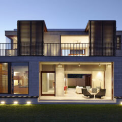 Block House by Porebski Architects in Australia