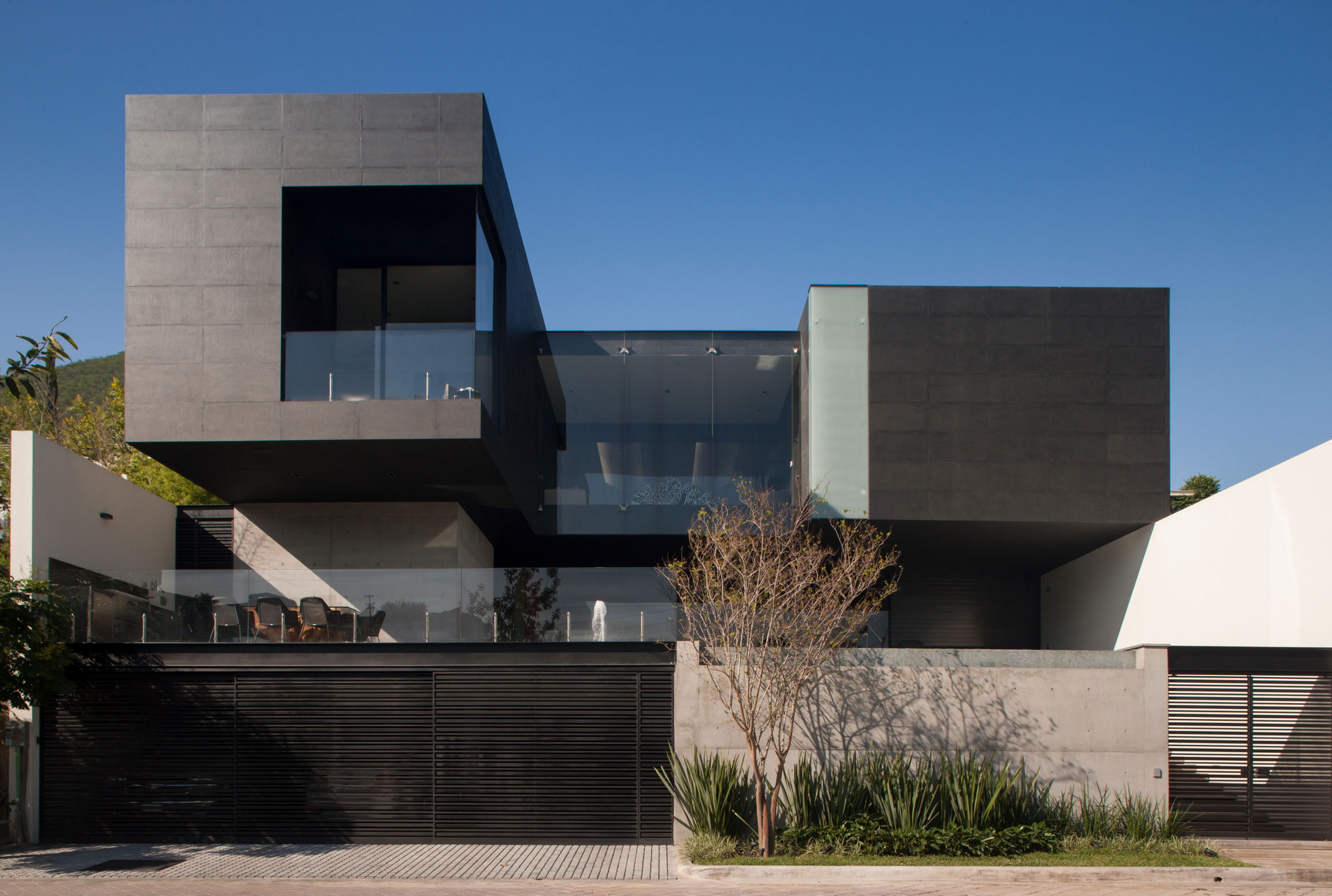 Casa ch is a stunning residence in mexico architecture for Casa design