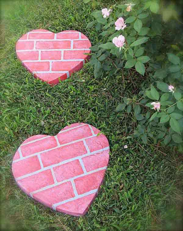 Cool DIY Stepping Stone 14