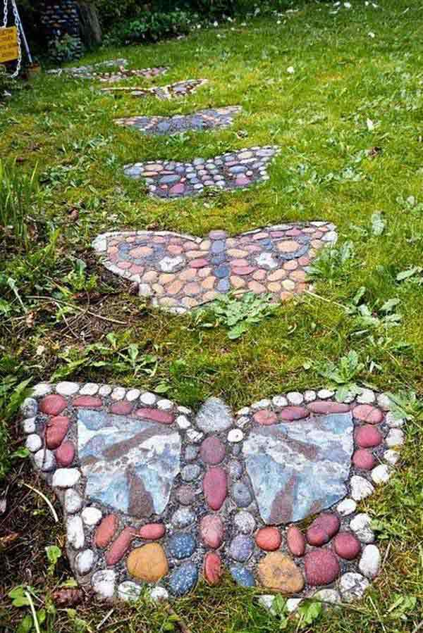 Cool-DIY-Stepping-Stone-21