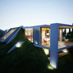 Earth House Project in Tirana, Albania