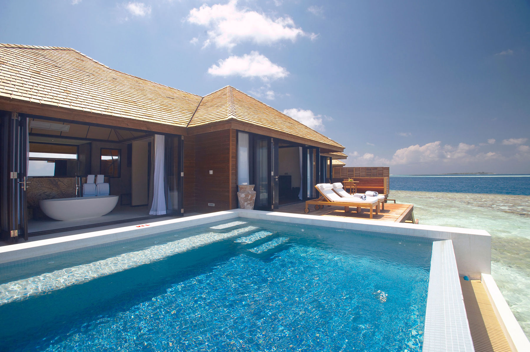 Lily Beach Resort  Spa in Maldives  Architecture  Design