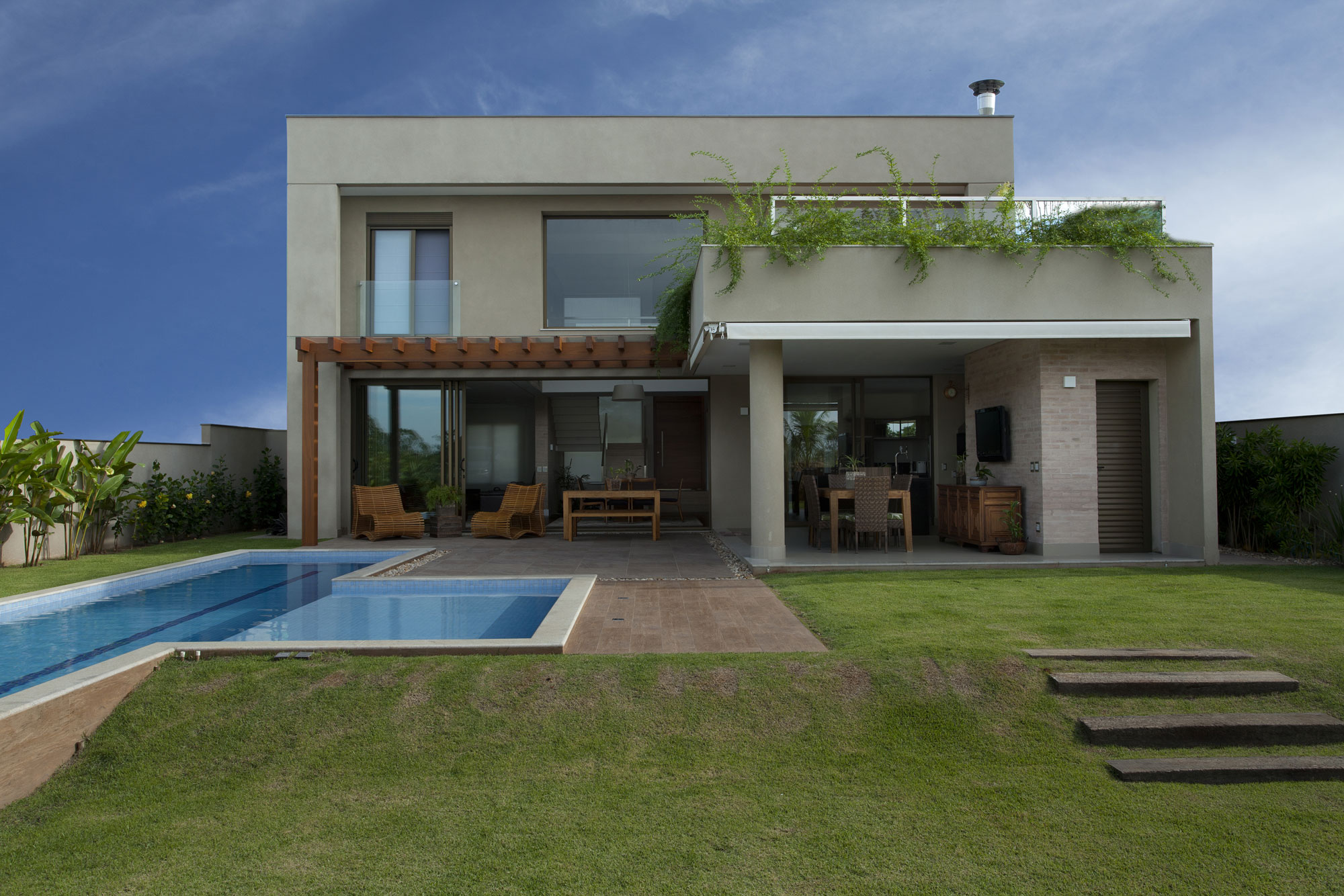 Residencia df by pupo gaspar arquitetura architecture for Architecture and design