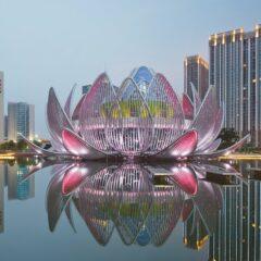 The Lotus Building in Wujin, China