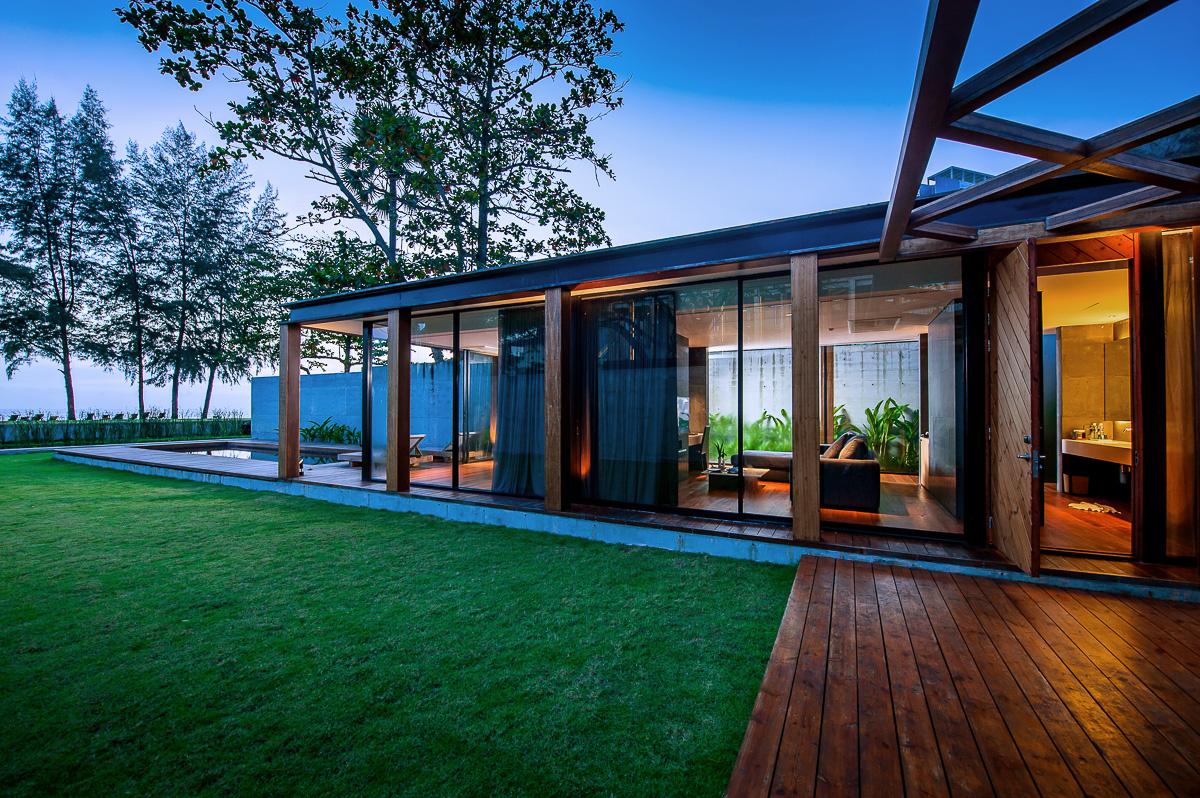 Villa Exterior Beachfront III