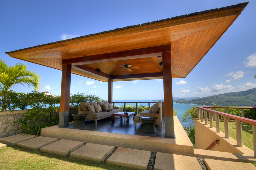Spectacular Sea View Villa On A Gentle Hillside In Kamala ...