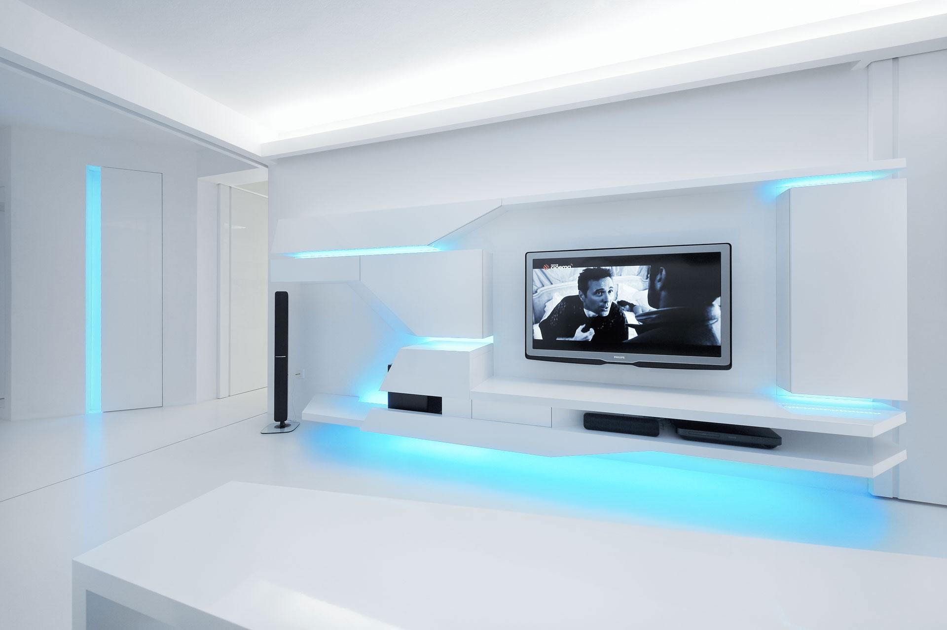 White Apartment By Next Level Studio Architecture Amp Design