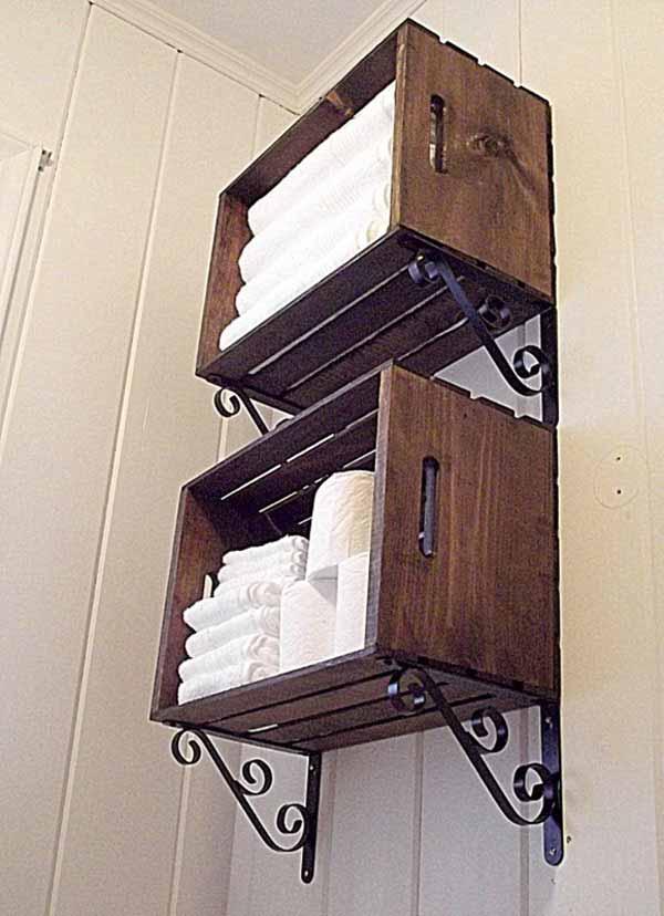 30 Brilliant Diy Bathroom Storage Ideas Architecture
