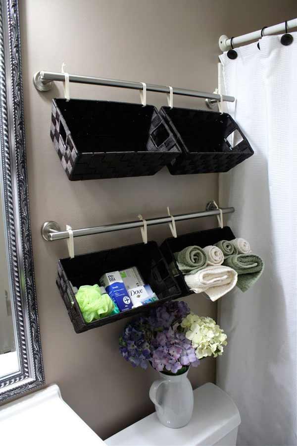 30 Brilliant DIY Bathroom Storage Ideas | Architecture ... on Small:j8V-Fokdwly= Bathroom Renovation Ideas  id=18023