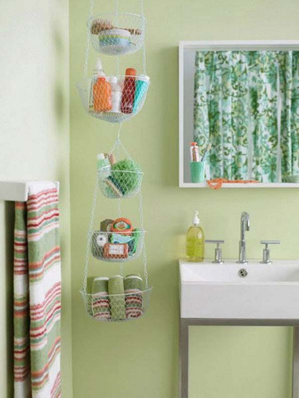 30 brilliant diy bathroom storage ideas architecture for Bathroom designs diy