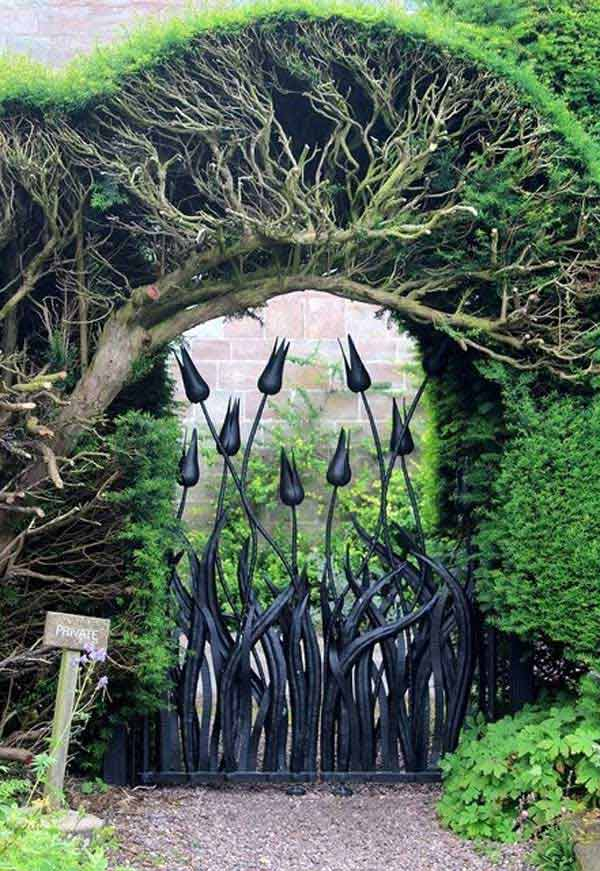 Home Interior Design Ideas: 22 Beautiful Garden Gate Ideas To Reflect Style