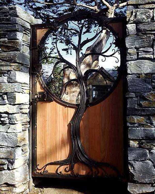 22 Beautiful Garden Gate Ideas To Reflect Style ...