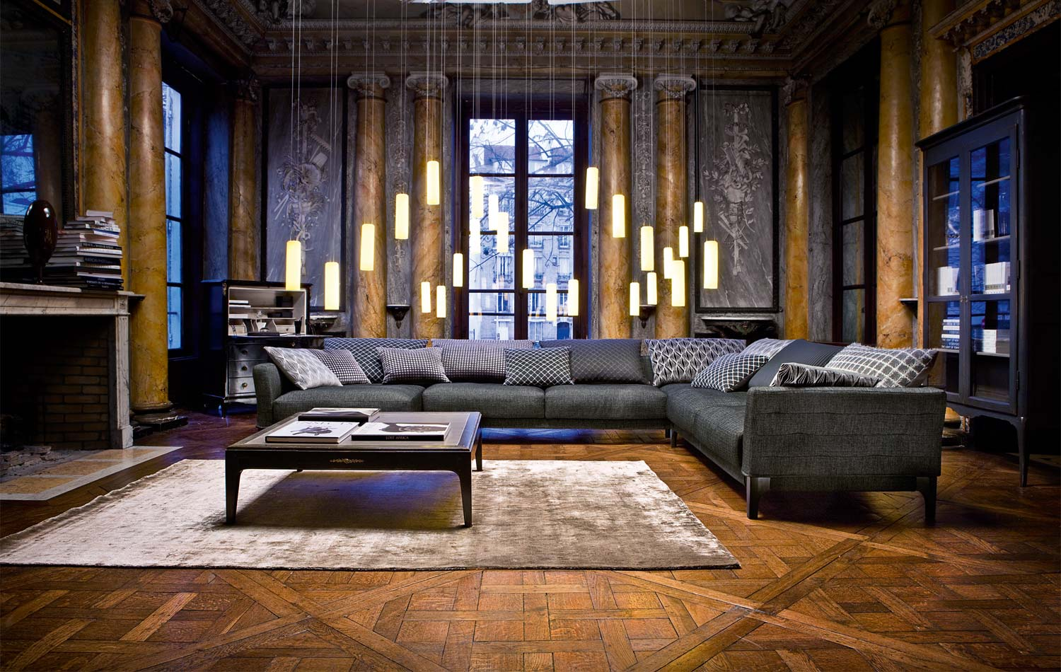 Living Room Ideas Designs And Inspiration: Living Room Inspiration: 120 Modern Sofas By Roche Bobois
