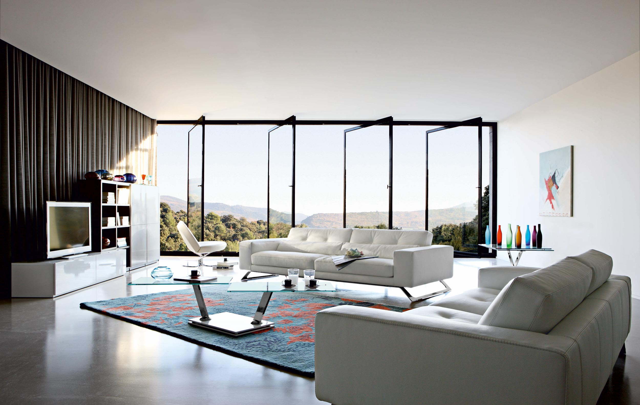 Living room inspiration 120 modern sofas by roche bobois for Innendesign wohnzimmer