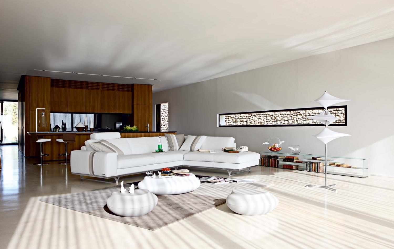 Roche Bobois Sofa White 23