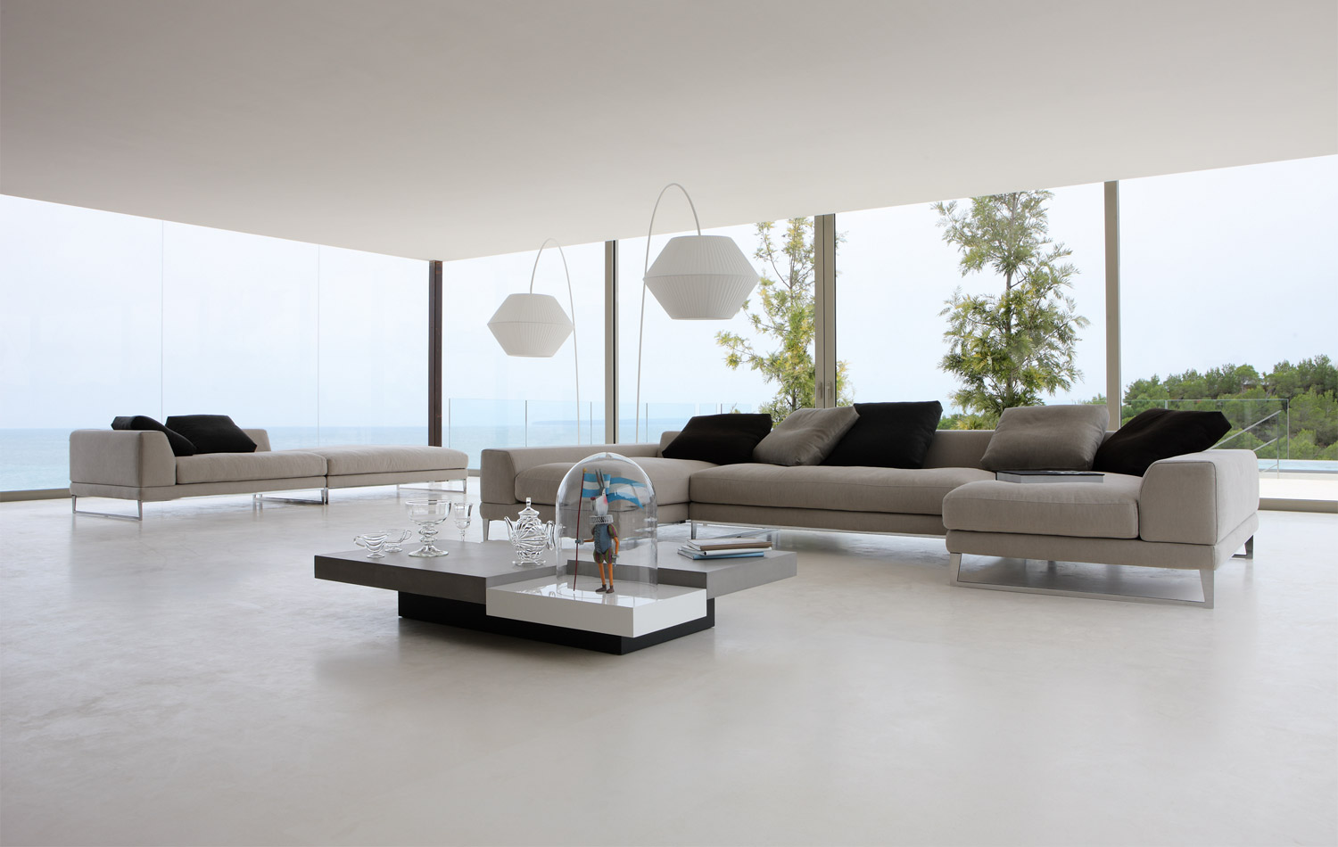 Living room inspiration 120 modern sofas by roche bobois for Design wohnzimmer