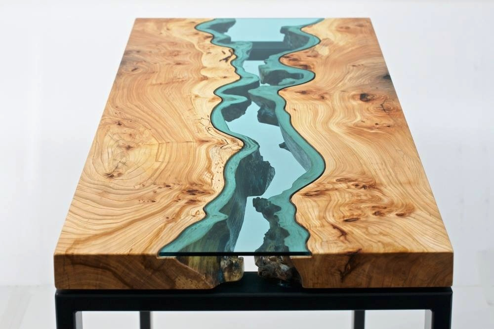 1 Topographic Coffee Table