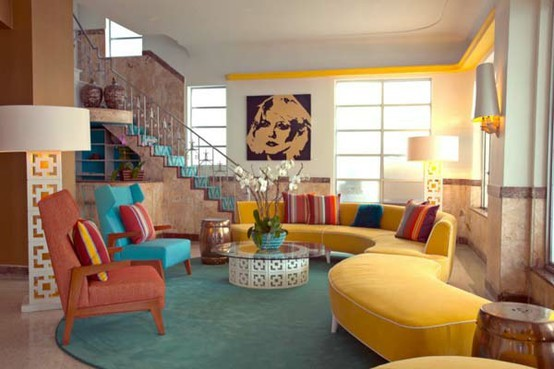 Colorful Living Room 50 dream interior design ideas for colorful living rooms