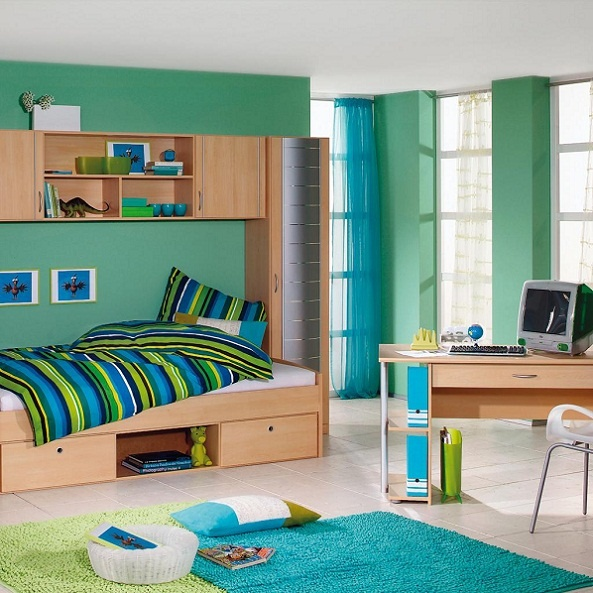 Little Boy Room Design Ideas: 18 Small Bedroom Decorating Ideas