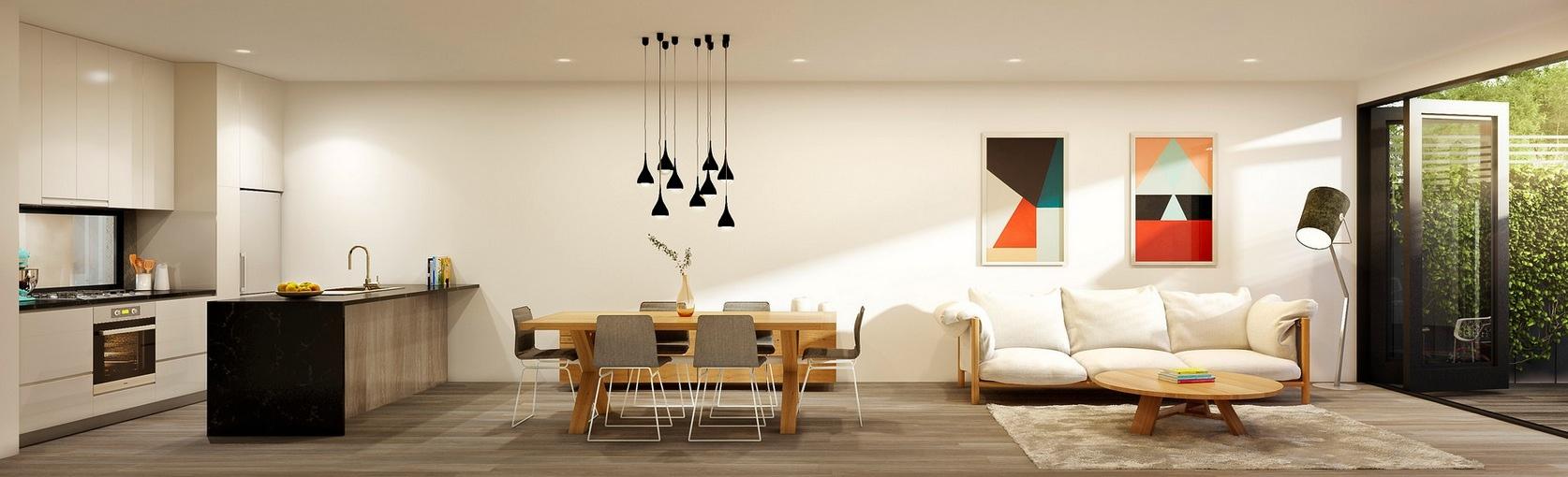 13 stylish one room apartment - Interior Design Living Room Apartment