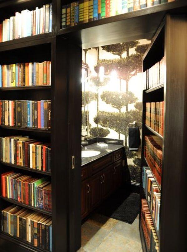14 Bookcase Hidden Wall