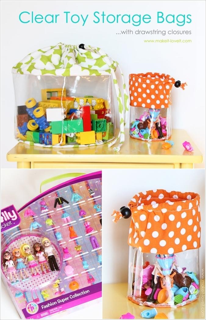 Kids Toy Craft Storage