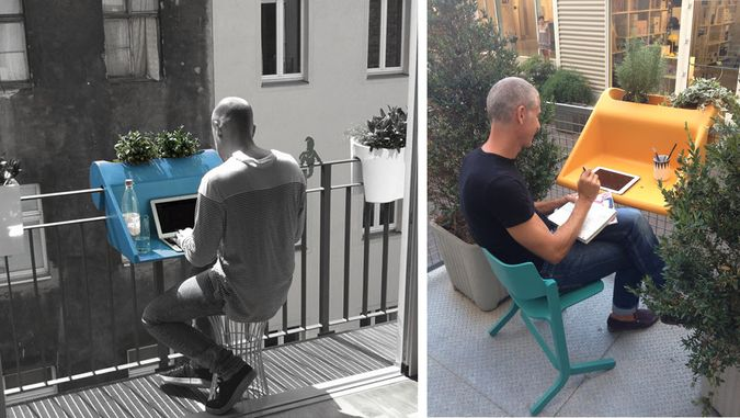 BalKonzept - Move Your Office On Your Balcony
