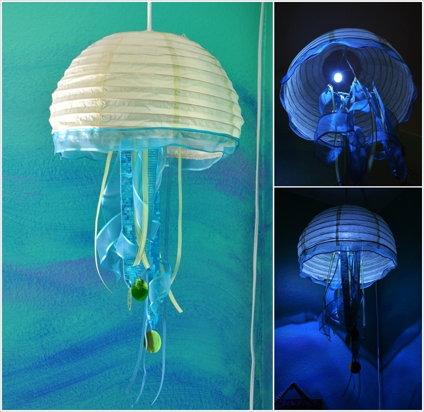 Paper Craft Jellyfish