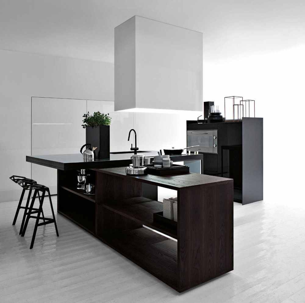20 elegant contemporary kitchen designs architecture for Elegant modern kitchen designs