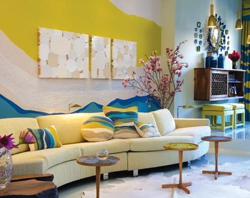 50 Dream Interior Design Ideas for Colorful Living Rooms | Architecture & Design